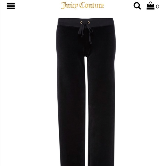 Juicy Couture Pants - Juicy Couture Velour Pants
